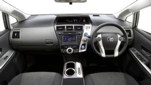 Prius v interior